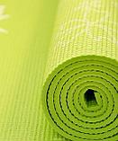 Коврики для йоги (61х173х0.6 см) ПВХ, с чехлом , фото 4