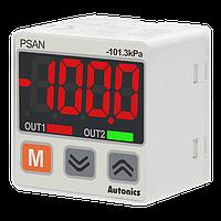 Цифровой датчик давления  0...-1 бар, PNP NO, 4...20мА, для воздуха и газов, фото 1