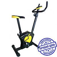 Велотренажер - Magnetic Bike (AL6017), черно-белый