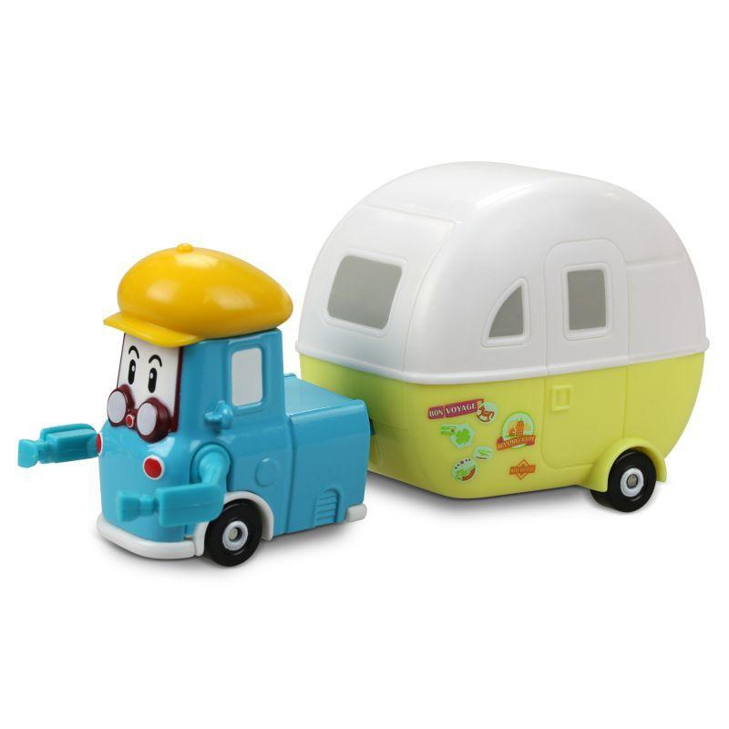 Robocar Poli Машинка Кэмп с большим прицепом (6 см)