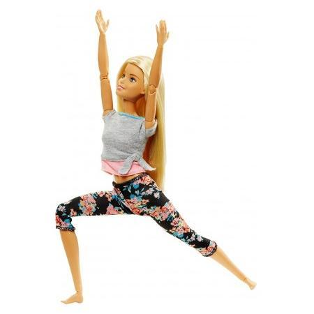 """Barbie """"Безграничные движения"""" Кукла Барби Блондинка - Цветочные"""