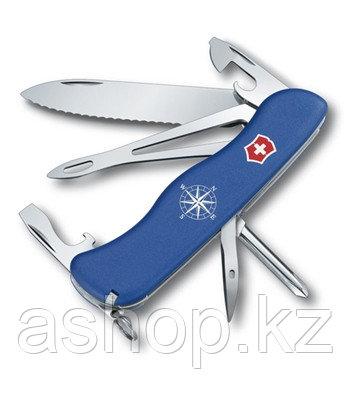 Нож складной солдатский Victorinox Helmsman, Кол-во функций: 14 в 1, Цвет: Синий, (0.8993.2W)