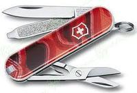 Нож складной карманный Victorinox Sunset Hills, Функционал: Туризм, Кол-во функций: 7 в 1, Цвет: Разноцветный,