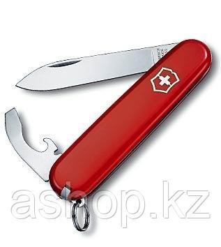 Нож складной офицерский Victorinox EcoLine Bantam, Функционал: Туризм, Кол-во функций: 8 в 1, Цвет: Красный, (