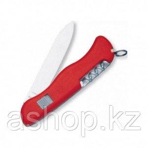Нож складной солдатский Victorinox Alpineer, Кол-во функций: 6 в 1, Цвет: Красный, (0.8823)