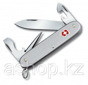 Нож складной карманный Victorinox Pioneer Alox, Кол-во функций: 5 в 1, Цвет: Серебристый, (0.8201.26)
