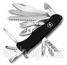 Нож складной солдатский Victorinox Work Champ, Кол-во функций: 23 в 1, Цвет: Чёрный, (0.9064.3)