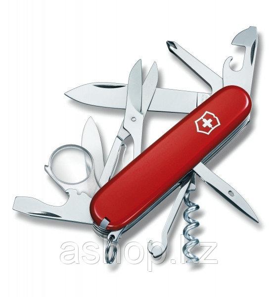 Нож складной офицерский Victorinox Explorer, Функционал: Исследовательский, Кол-во функций: 16 в 1, Цвет: Крас