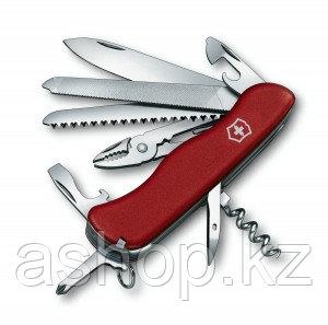 Нож складной солдатский Victorinox Tradesman, Кол-во функций: 20 в 1, Цвет: Красный, (0.9053)