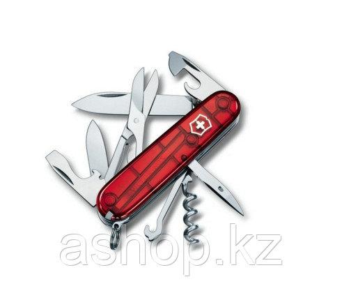 Нож складной многофункциональный Victorinox Climber, Функционал: Для активного отдыха, спорта, путешествия, Ко