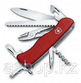 Нож складной солдатский Victorinox Atlas, Кол-во функций: 18 в 1, Цвет: Красный, (0.9033)