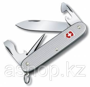 Нож складной перочинный Victorinox Pioneer, Кол-во функций: 8 в 1, Цвет: Серебристый, (0.8201.26B1)