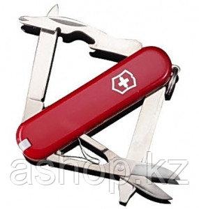 Нож складной карманный Victorinox Rambler, Функционал: Туризм, Кол-во функций: 10 в 1, Цвет: Красный, (0.6363)