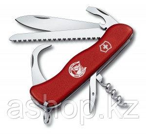Нож складной солдатский Victorinox Equestrian, Кол-во функций: 14 в 1, Цвет: Красный, (0.8883)