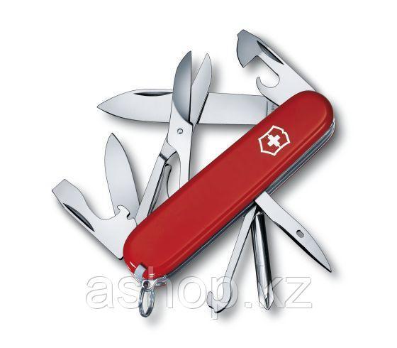 Нож складной офицерский Victorinox Super Tinker, Кол-во функций: 14 в 1, Цвет: Красный, (1.4703)