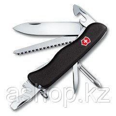 Нож складной солдатский Victorinox Trailmaster, Кол-во функций: 14 в 1, Цвет: Чёрный, (0.8463.3)