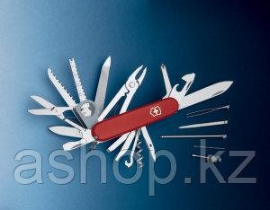 Нож складной универсальный Victorinox Swisschamp, Функционал: Универсальная, Кол-во функций: 32 в 1, Цвет: Кра
