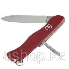 Нож складной солдатский Victorinox Cowboy, Кол-во функций: 6 в 1, Цвет: Красный, (0.8923)