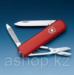 Нож складной карманный Victorinox Ambassador, Функционал: Туризм, Кол-во функций: 6 в 1, Цвет: Красный, (0.650