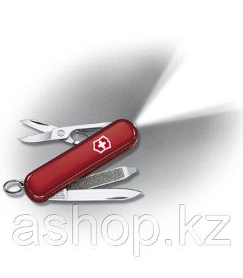 Нож складной карманный Victorinox Swisslite, Функционал: Туризм, Кол-во функций: 7 в 1, Цвет: Красный, (0.6228