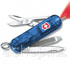 Нож складной карманный Victorinox Signature Light, Функционал: Туризм, Кол-во функций: 7 в 1, Цвет: Синий (про