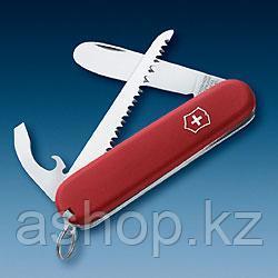 Нож складной офицерский Victorinox EcoLine My First Victorinox, Функционал: Туризм, Кол-во функций: 9 в 1, Цве