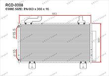 Радиатор кондиционера Gerat OEM80100TL1G01