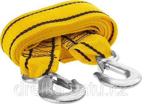 Трос буксировочный STAYER STANDARD, 2 крюка, сумка, 4м, 3,5т, фото 2