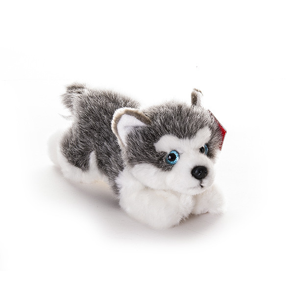 AURORA Игрушка мягкая Лайка щенок 22 см