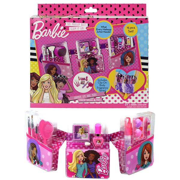Набор Markwins детской декоративной косметики  Barbie с поясом визажиста