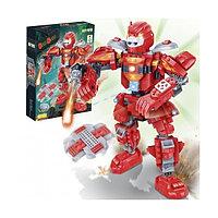 Конструктор BanBao Робот красный, 228дет.