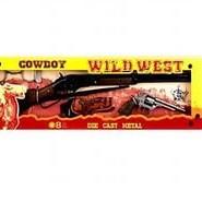 """Gonher: Набор """"Дикий Запад"""" винтовка+револьвер+коб.+наруч.+звез.шерифа049805"""