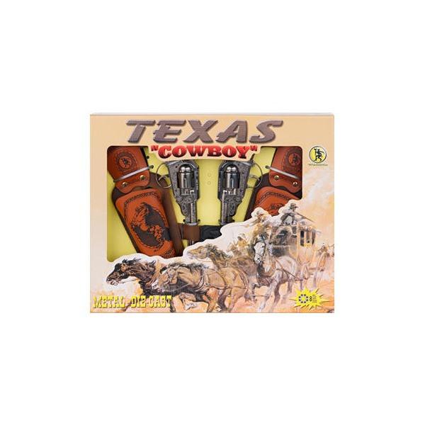 """Gonher: Набор """"Texas Cowboy"""", 2 револьвера+2кобуры+ремень023409"""