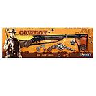 """Gonher: Набор """"Ковбой"""", винтовка+револьвер+кобура+наручники+звезда  шерифа058005"""