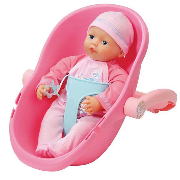 Кукла my little BABY born 32 см и кресло-переноска,  пол.пакет