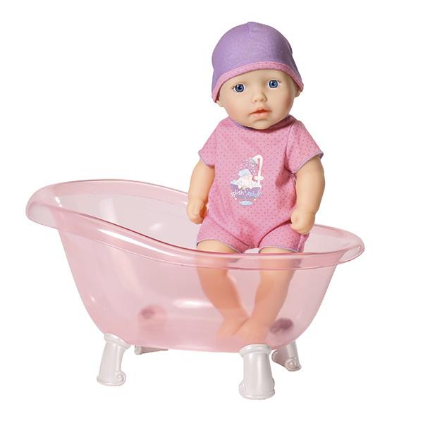 Кукла my first Baby Annabell твердотелая с ванночкой,  30 см, дисплей