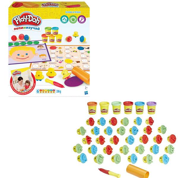 Игровой набор Hasbro Play Doh ПЛЭЙ-ДО ИГРОВОЙ  НАБОР БУКВЫ И ЯЗЫКИ
