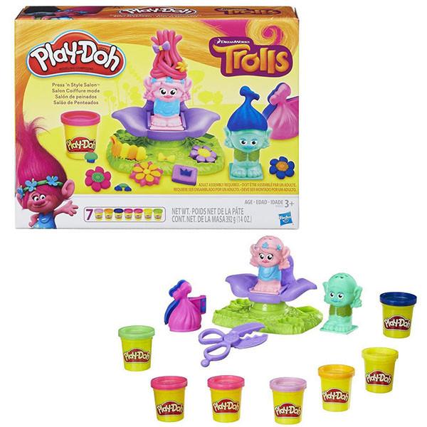 """Игрушка Hasbro Play-Doh Игровой набор """"ТРОЛЛИ"""""""