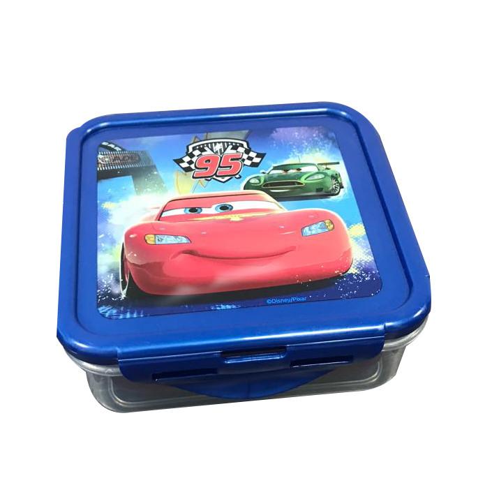 "Контейнер Stor Disney пластиковый ""Cars Mach Speed""  квадратный 500мл"