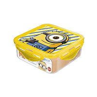 Контейнер Stor Minions пластиковый квадратный,  500мл