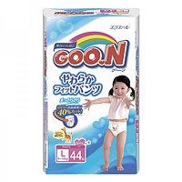 Подгузники-трусики Goon 9-14кг L 44шт для девочек