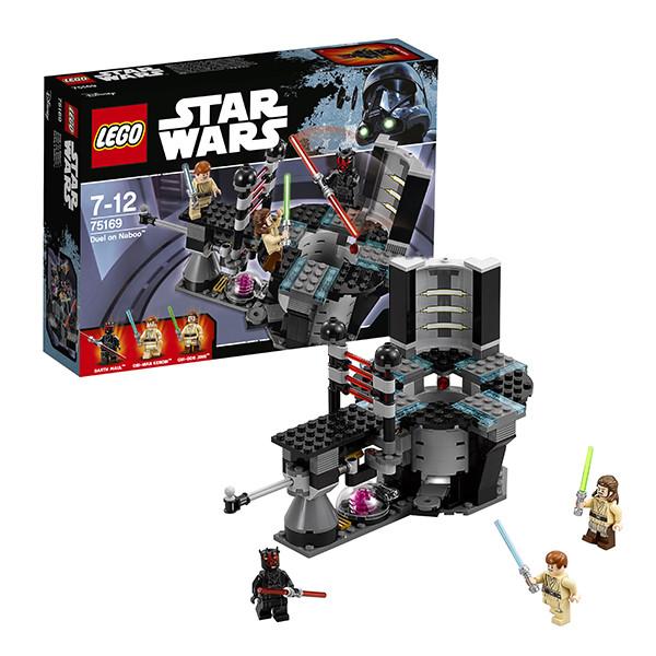 Конструктор LEGO Star Wars Дуэль на Набу
