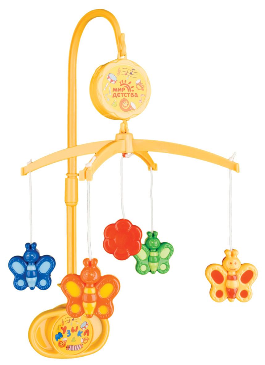 Игрушка-мобиль Мир Детства Музыкальная  сказка (бабочки)