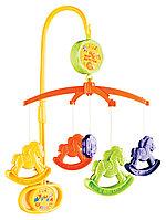 Игрушка-мобиль Мир Детства Музыкальная  сказка (лошадки)