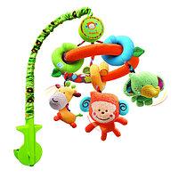 Мобиль BKIDZ на кроватку Обезьянка Би-би и  друзья (игрушки съемные)