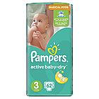 Подгузники Pampers Active Baby-Dry 3 (5-9кг) 62 шт.