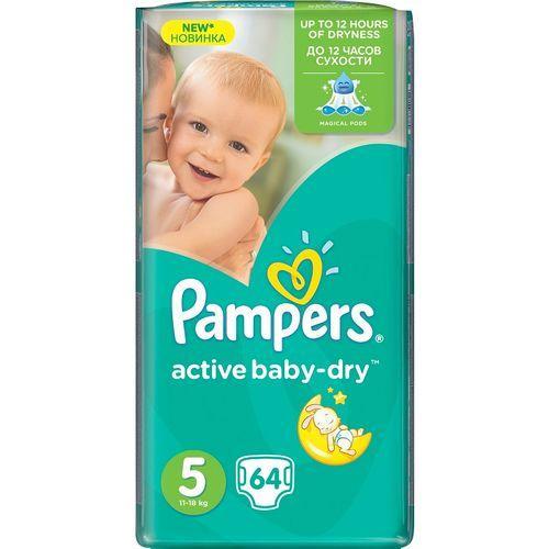 Подгузники Pampers Active Baby-Dry 5 (11-18кг) 64 шт.