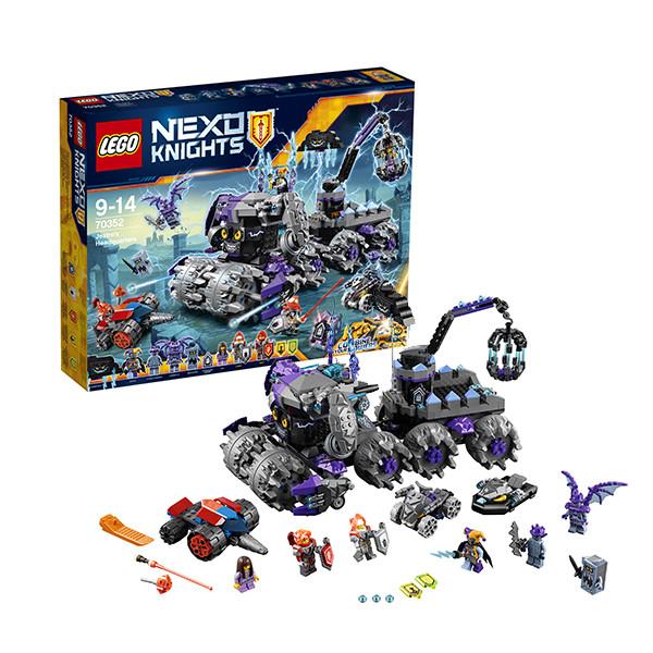 Конструктор LEGO Nexo Knights Штурмовой разрушитель  Джестро