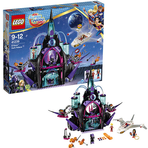 Конструктор LEGO Super Hero Girls Тёмный дворец  Эклипсо