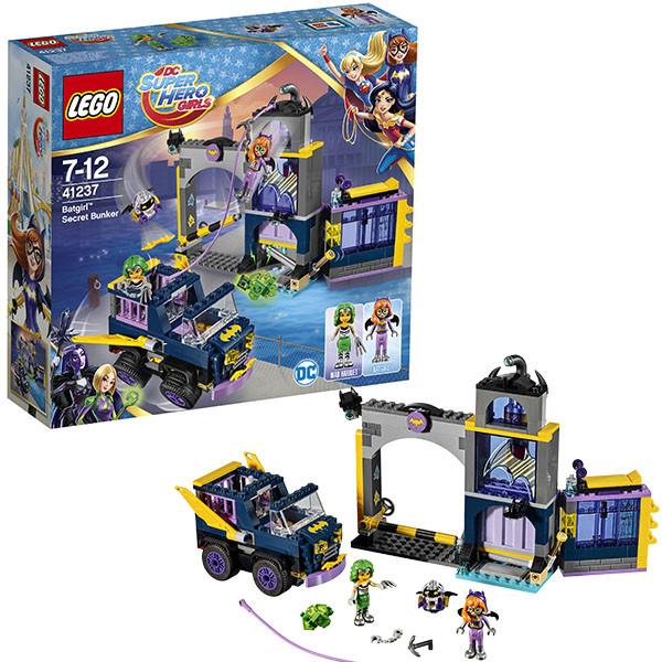 Конструктор LEGO DC Super Hero Girls Секретный бункер  Бэтгёрл